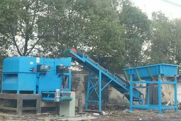 深圳有色金属分选机生产现场